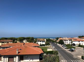 61V – Attico con terrazza vista mare
